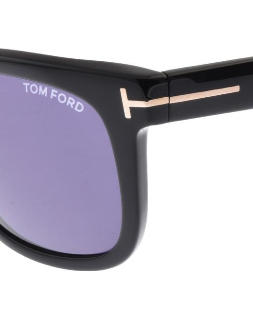 33a00a1ef7e Tom Ford Leo Sunglasses Black in Black for Men - Lyst
