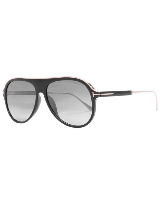 37a7a2eb18 Lyst - Tom Ford Nicholai Sunglasses Black in Black for Men