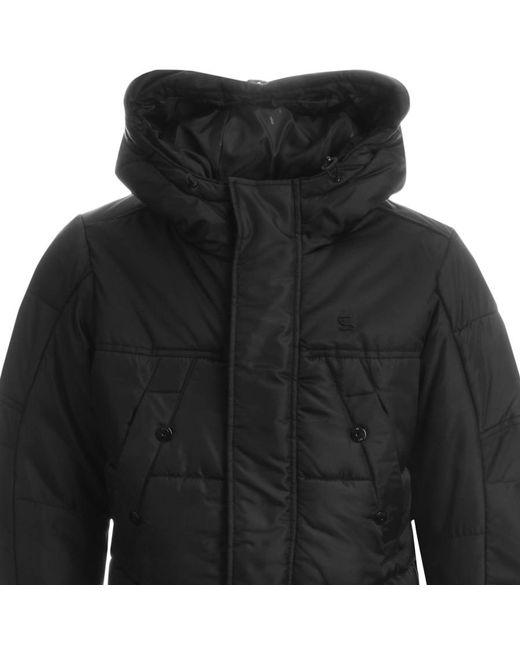 G-Star RAW   Hooded Whistler Parker Jacket Black for Men   Lyst
