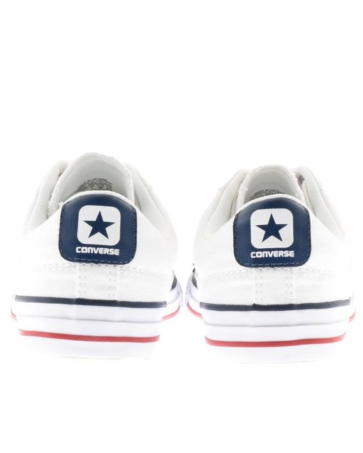 Converse - Cons Star Player Ox Trainers White for Men - Lyst
