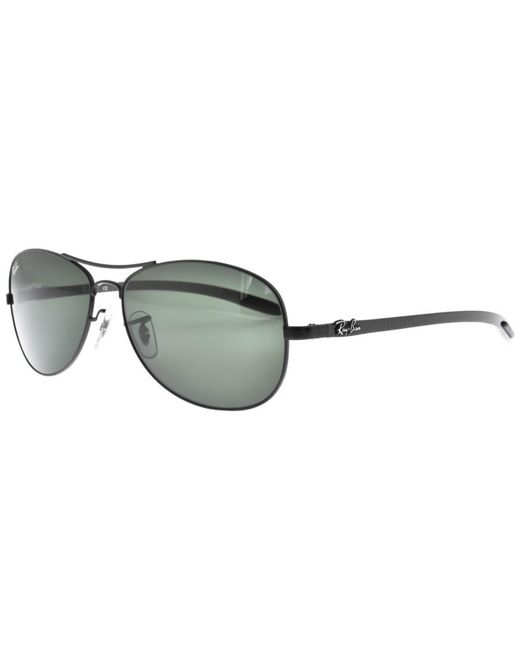 Ray-Ban - Ray Ban Tech 8301 Aviator Sunglasses Black for Men - Lyst