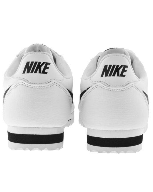 best service 98ffc da1b2 ... new zealand nike classic cortez trainers white for men lyst f30ef 67a47