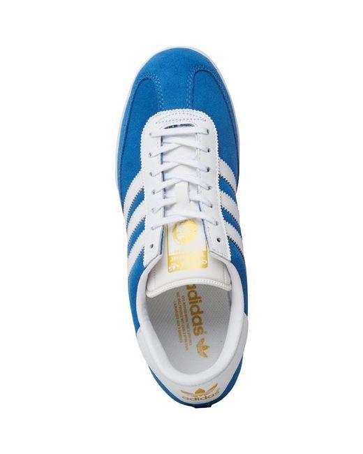 hot sale online d63ab c0e56 ... Adidas Originals - Beckenbauer All Round Trainers Bluebird white metallic  Gold for Men ...