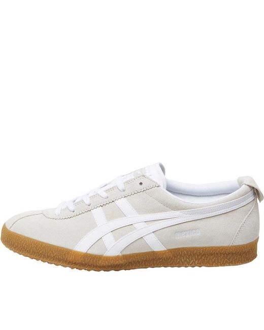 Onitsuka Tiger - Natural Mexico Delegation Trainers White/white for Men - Lyst
