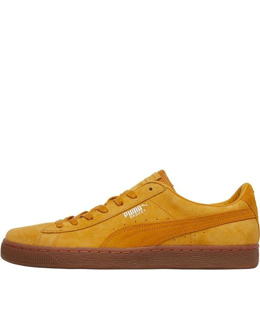 PUMA - Multicolor Basket Classic Weatherproof Trainers Sunflower for Men -  Lyst ... 612ab8291