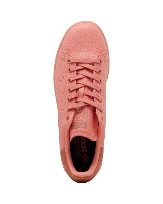 Adidas Originali Stan Smith Formatori Tattile Rose / Raw Rosa In Rosa
