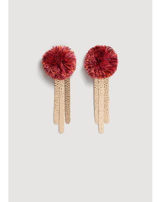 Mango - Pink Earrings - Lyst