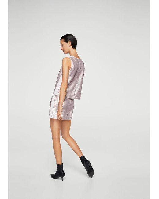 Mango | Pink Skirt | Lyst