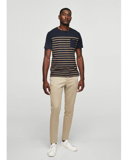 Mango | Multicolor 5-pocket Cotton Trousers | Lyst