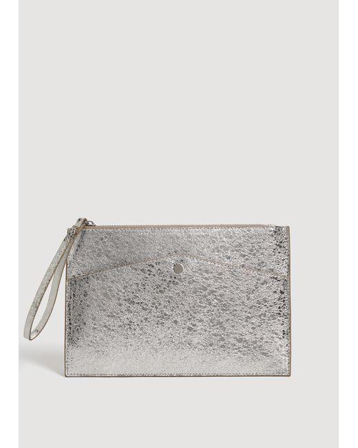 Mango - Metallic Cosmetic Bag - Lyst