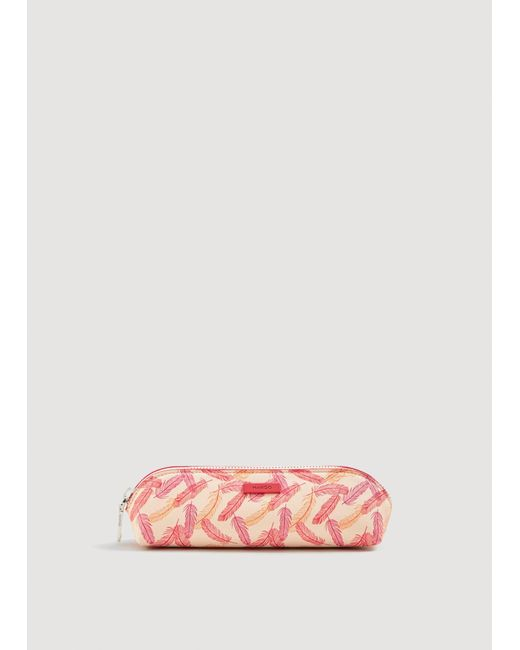 Mango - Pink Printed Pencil Case - Lyst