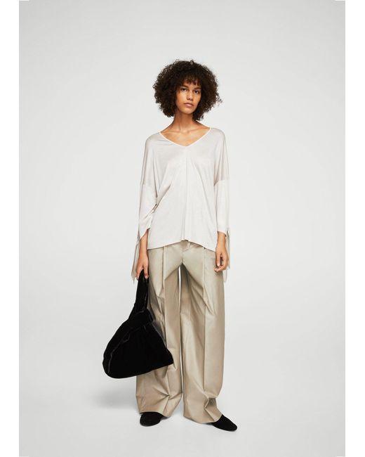 Mango | White T-shirt | Lyst