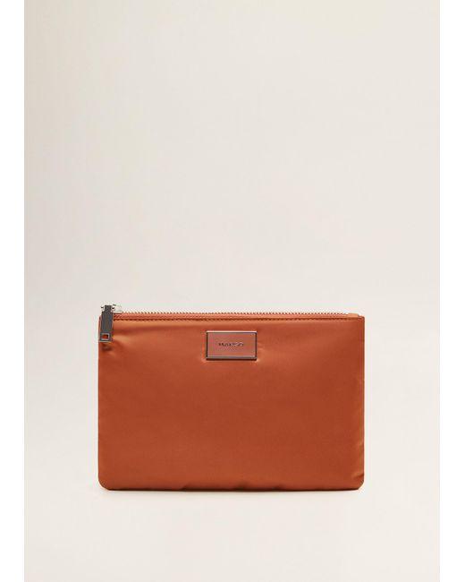 Mango - Multicolor Zipped Cosmetic Bag - Lyst
