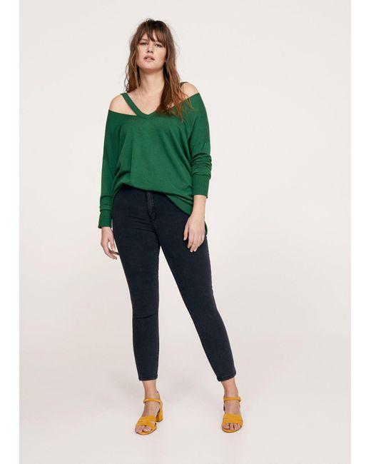 Violeta by Mango - Gray Jeans - Lyst