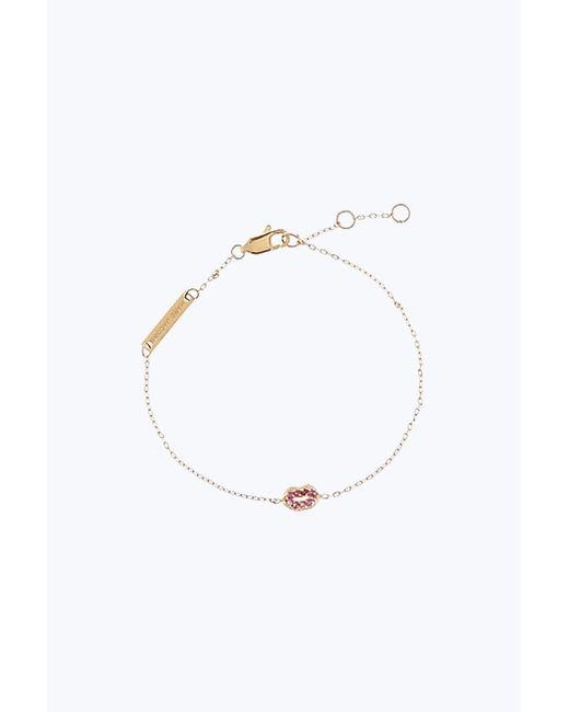 Marc Jacobs | Metallic Lips Chain Bracelet | Lyst