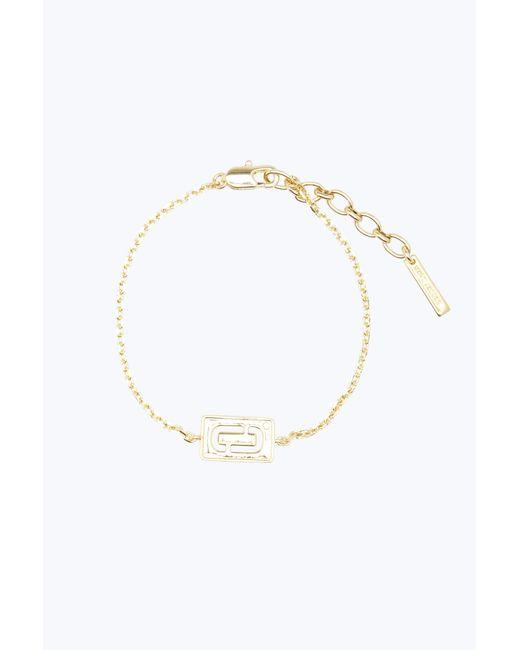 Marc Jacobs   Metallic Double J Bracelet   Lyst