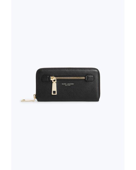 Marc Jacobs - Black Gotham Standard Continental Wallet - Lyst