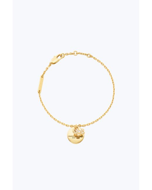 Marc Jacobs | Metallic Mj Coin Bracelet | Lyst