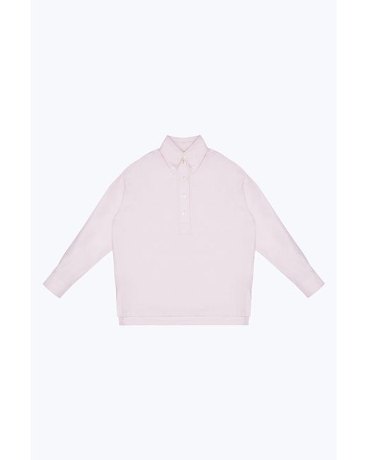Marc Jacobs - Pink Oversize Drop Shoulder Polo - Lyst
