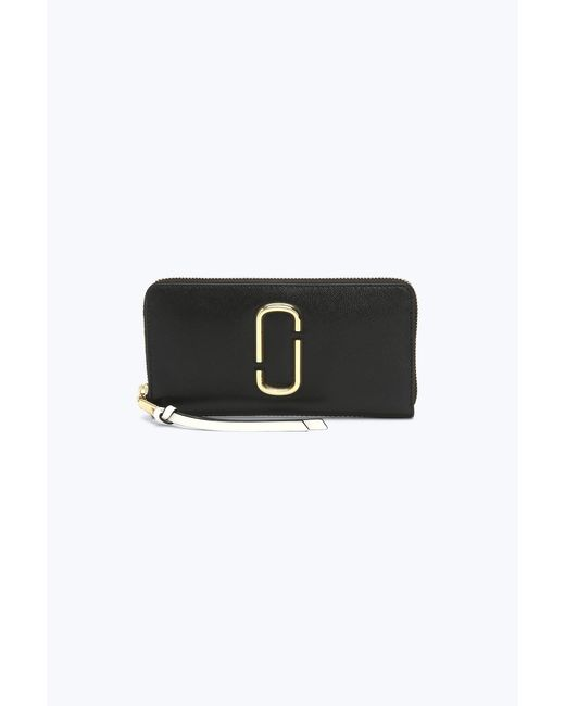 Marc Jacobs - Black Snapshot Standard Leather Continental Wallet - Lyst