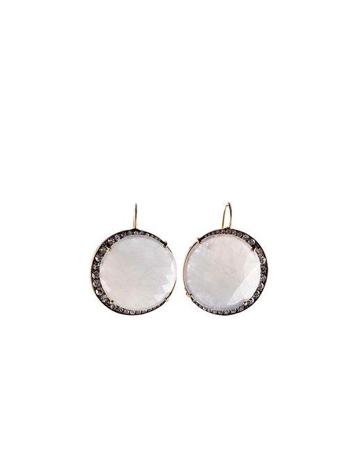 Sylva & Cie | Multicolor Lavender Sapphire Moon Earrings | Lyst