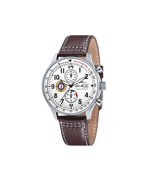 AVI-8 | Brown Hawker Hurricane Watch for Men | Lyst