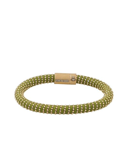 Carolina Bucci | Green Twister Magnetic Clap Bracelet | Lyst