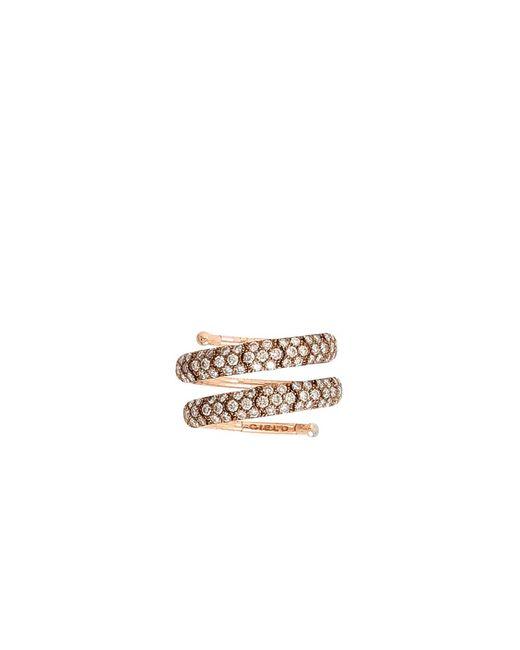 Mattia Cielo | Multicolor Rugiada Pave Diamond Wrap Ring | Lyst