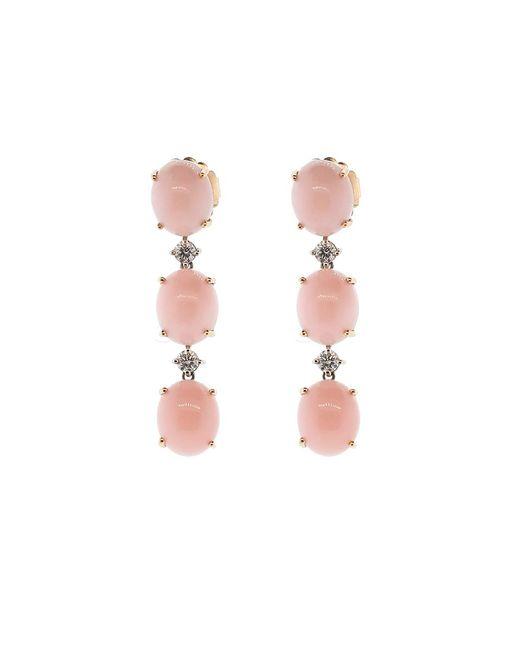 Irene Neuwirth | Pink Opal And Diamond Earrings | Lyst