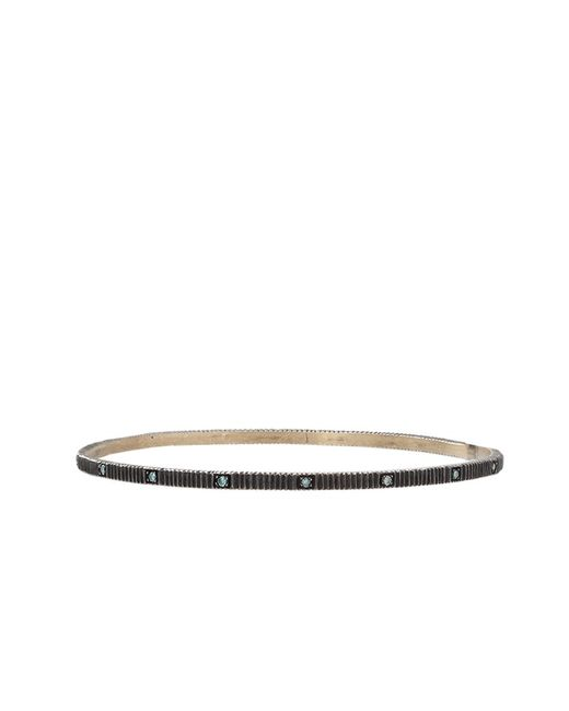 Yossi Harari | Lilah Bangle With Blue Diamonds | Lyst