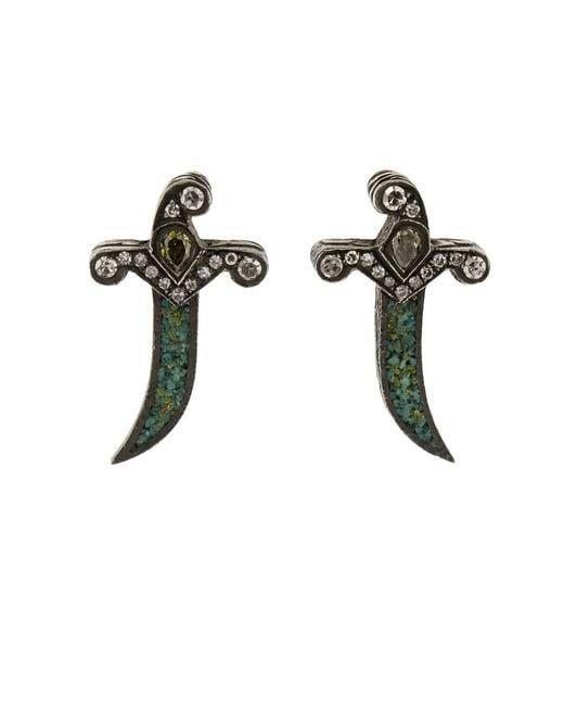 Sevan Biçakci - Multicolor Dagger Stud Earrings - Lyst