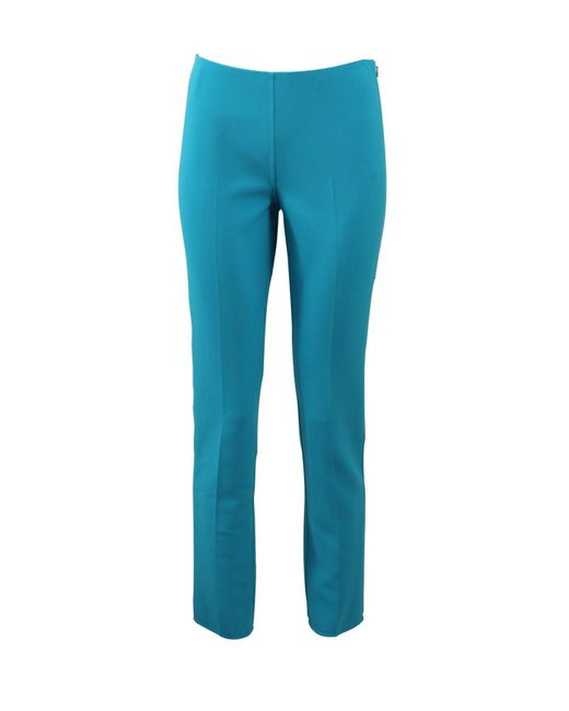 Michael Kors   Blue Cropped Pant   Lyst