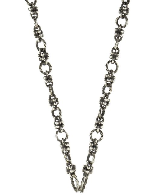 Sevan Biçakci - Metallic Open Water Chain Necklace With Dagger Station - Lyst
