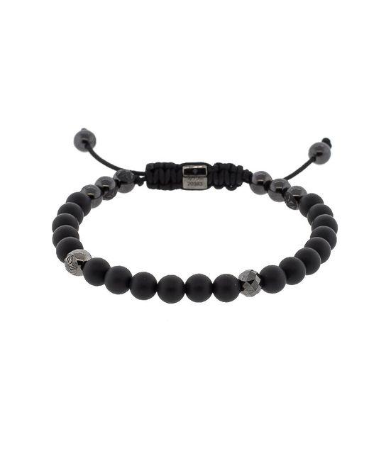Shamballa Jewels - Black Diamond And Onyx Bead Bracelet - Lyst