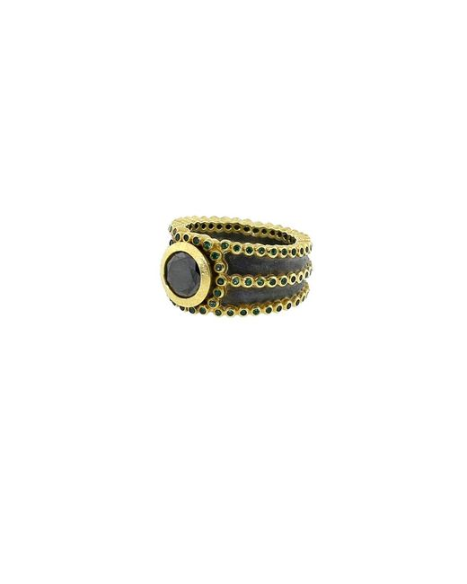 Todd Reed | Multicolor Black Diamond Ring | Lyst
