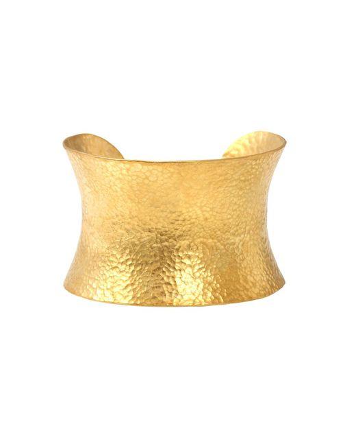 Yossi Harari - Metallic Large Corset Cuff Bracelet - Lyst