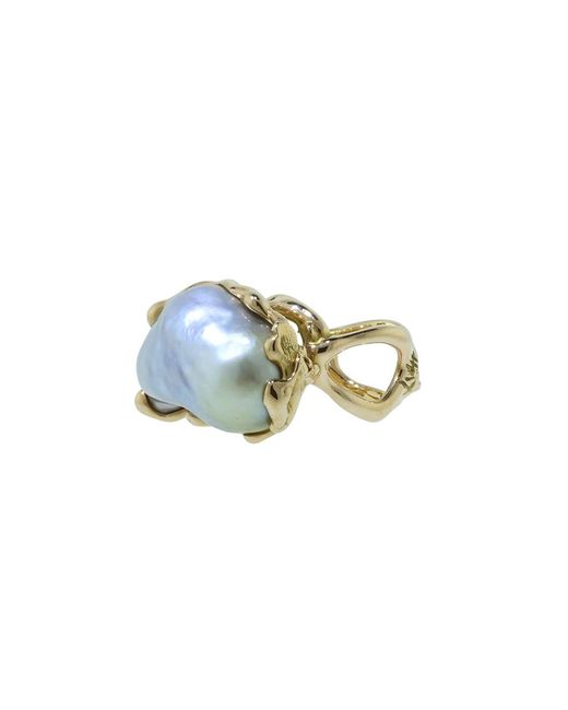 Lucifer Vir Honestus - Multicolor Reticolo Pearl Ring - Lyst