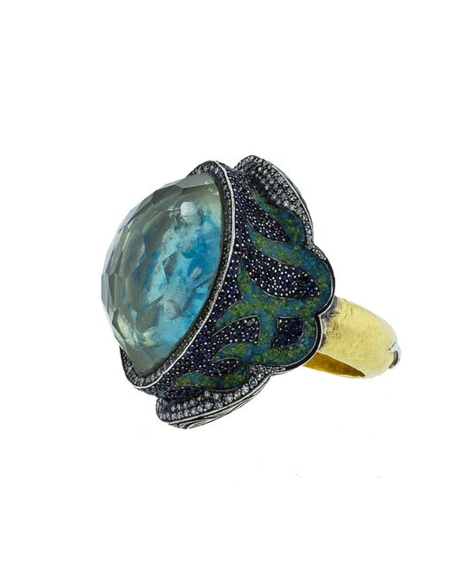 Sevan Biçakci - Blue School Of Fish Turquoise Ring - Lyst