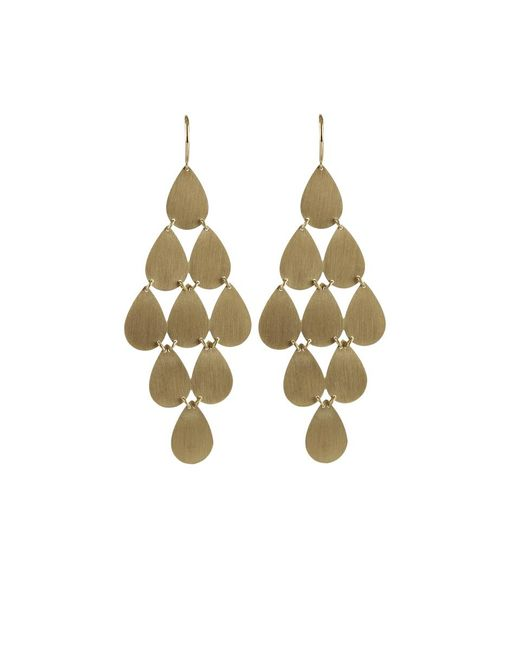 Irene Neuwirth - Yellow Nine-drop Chandelier Earrings - Lyst