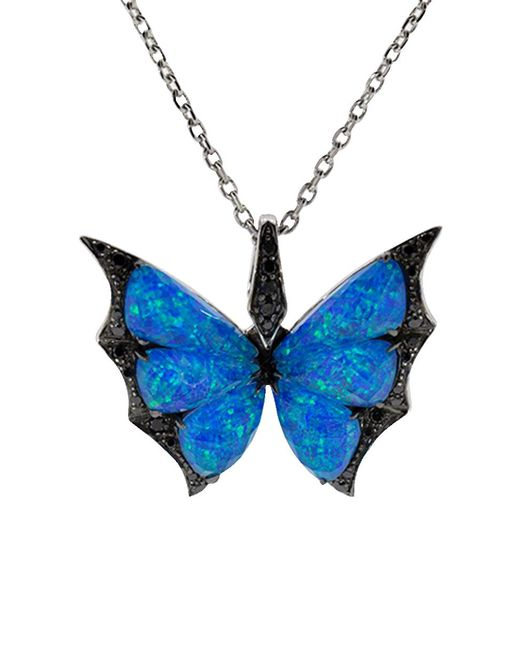 Stephen Webster - Blue Fly By Night Crystal Haze Pendant Necklace - Lyst