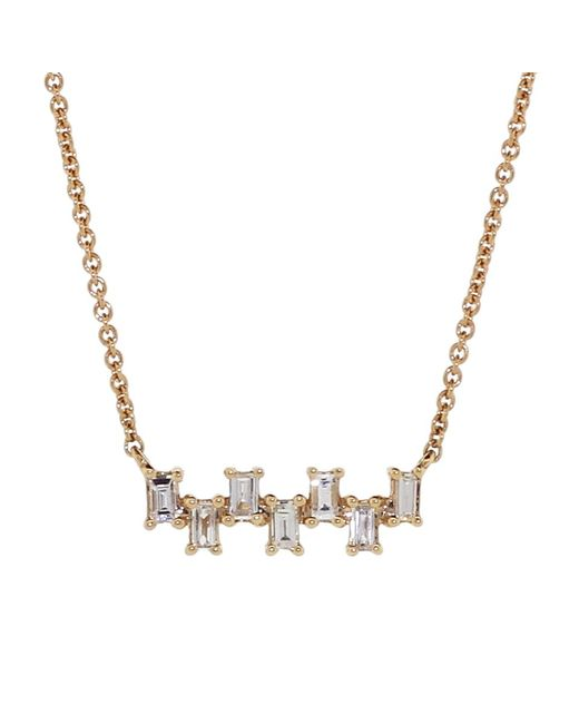 Dana Rebecca | Metallic Sadie Pearl Diamond Necklace | Lyst