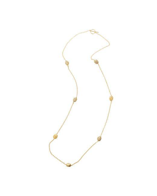 Yossi Harari   Yellow Roxanne Rattan Wrap Diamond Necklace   Lyst