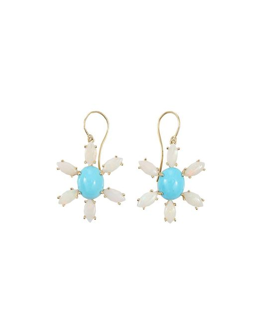 Andrea Fohrman | Blue Sleeping Beauty Turquoise Earrings | Lyst