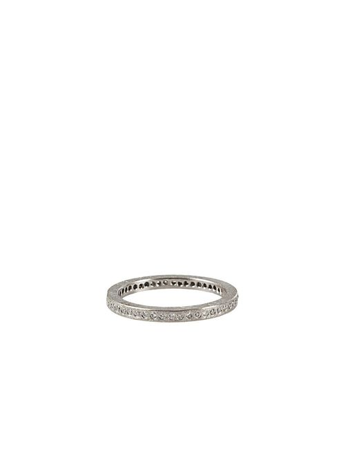 Todd Reed - Metallic Palladium White Diamond Eternity Ring for Men - Lyst