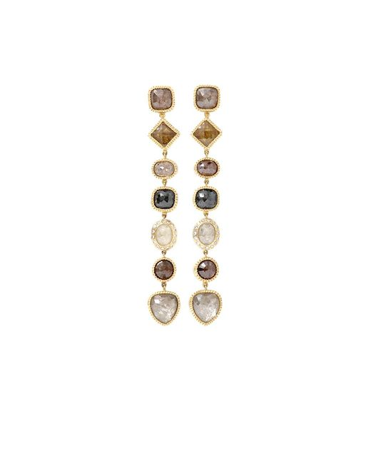 Todd Reed | Pink Fancy Diamond Drop Earrings | Lyst
