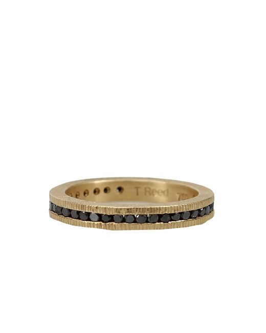Todd Reed - Metallic Channel Set Black Diamond Eternity Ring - Lyst