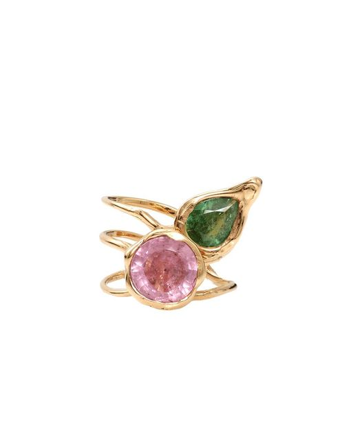 Lucifer Vir Honestus | Green Tourmaline Primavera Ring | Lyst