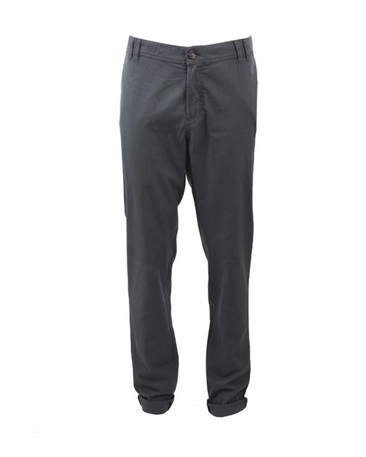 Brunello Cucinelli | Gray Slim Fit Trouser for Men | Lyst