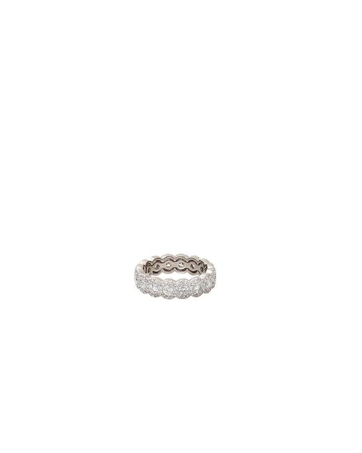 Inbar - Metallic Round Diamond Eternity Band - Lyst