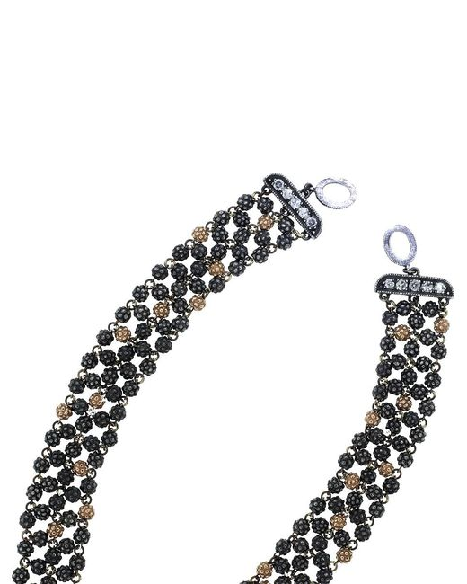Sevan Biçakci - Metallic Wide Rosary Necklace - Lyst